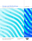 Design and Methodology American Community Survey