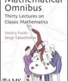 Mathematical Omnibus: Thirty Lectures on Classic Mathematics