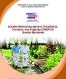 Medicare Claims Processing Manual  Chapter 20 - Durable Medical Equipment, Prosthetics,  Orthotics, and Supplies (DMEPOS)