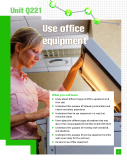 Use office  equipment
