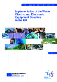 Implementation of the Waste Electric and Electronic  Equipment Directive in the EU