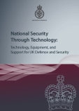 National Security  Through Technology: Technology, Equipment, and  Support for UK Defence and Security
