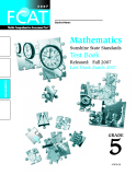 Mathematics  Sunshine State Standards  Test Book 5