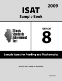 ISAT Sample Book 8: Sample Items for Reading and Mathematics 2009