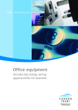 Office equipment Introducing energy saving opportunities for business