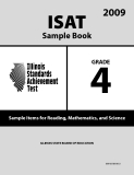 ISAT Sample Book 4: Sample Items for Reading, Mathematics, and Science 2009