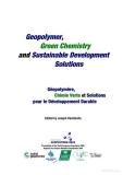 geopolymer green chemistry and sustainable development solutions