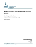 federal research and development funding fy2011