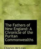 The Fathers of New England A Chronicle of the Puritan Commonwealths