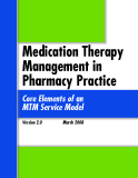Medication Therapy Management in Pharmacy Practice