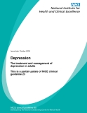 Depression - The treatment and management of depression in adults