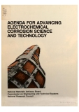 agenda for advancing electrochemical corrosion science and technology