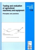 testing and evaluation of agricultural machinery and equipment