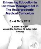 Lactation Management Self-Study Modules