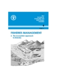 FISHERIES MANAGEMENT: The ecosystem approach to fisheries
