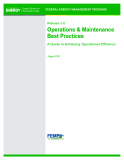 Operations & Maintenance Best Practices - A Guide to Achieving Operational Efficiency