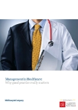 Management in Healthcare: Why good practice really matters