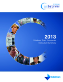 Executive Summary: 2013 Edelman Trust Barometer