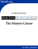 .Make Your Net Auction Sell - The Net Auction Game