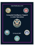 geospatial intelligence support to joint operations