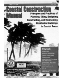 coastal construction manual principles and practices of planning siting