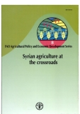 syrian agriculture at the crossroads