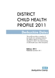 DISTRICT CHILD HEALTH PROFILE 2011