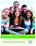 Preconception Health 2013–2015 Rhode Island Strategic Plan