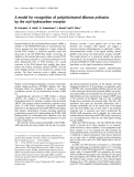 Báo cáo Y học:  A model for recognition of polychlorinated dibenzo-p-dioxins by the aryl hydrocarbon receptor
