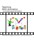 Teaching With Animation - a booklet about animation