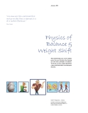 Physics of Balance & Weight Shift