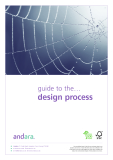 GUIDE TO THE ... DESIGN PROCESS