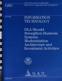 information technology dla should strengthen business systems modernization
