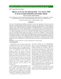 "Báo cáo "" Balance of rice for the Mekong Delta - Viet Nam to 2050 in terms of industrialization and climate change '"
