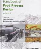 Handbook of the Food Process Design