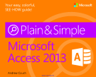 Microsoft Access 2013 Plain & Simple