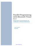 parallel programming with microsoft visual c