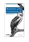 Windows 2000 Commands Pocket Reference