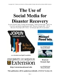 The Use of   Social Media for   Disaster Recovery
