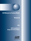 ACR Manual on Contrast Media Version 8