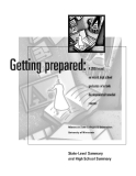 Getting Prepared:  A 2008 Report on Recent High School Graduates  Who Took Developmental/Remedial Courses