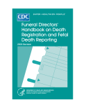 FUNERAL DIRESTORS HANDBOOK ON DEATH REGISTRATION AND FETAL DEATH REPORTING