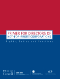 PRIMER FOR DIRECTORS  OF NOT-FOR-PROFIT CORPORATIONS