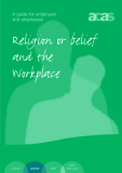 Religion or belief and the Workplace