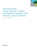 Technical Note:   Using VMware®  vCenter™   Chargeback Manager™  with  VMware vCloud®  Director™