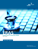ERAS Program Director's Workstation (PDWS) User Guide 2013