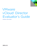 VMware®   vCloud™  Director  Evaluator's Guide