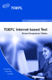 TOEFL iBT INTERNET-BASED TEST