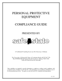 PERSONAL PROTECTIVE  EQUIPMENT COMPLIANCE GUIDE