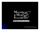 Marketing & Media Ecosystem 2010